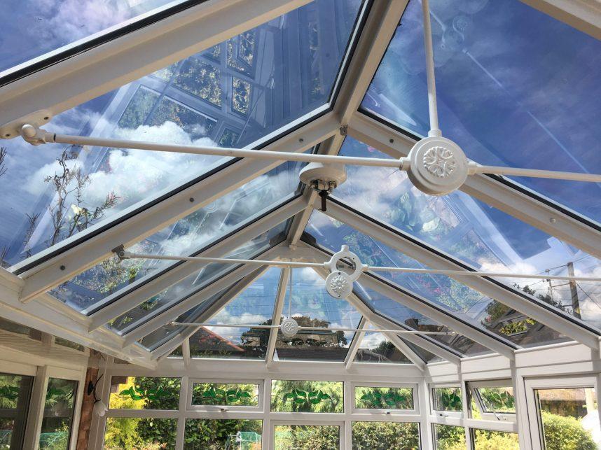 Conservatory Glare Reduction 84%