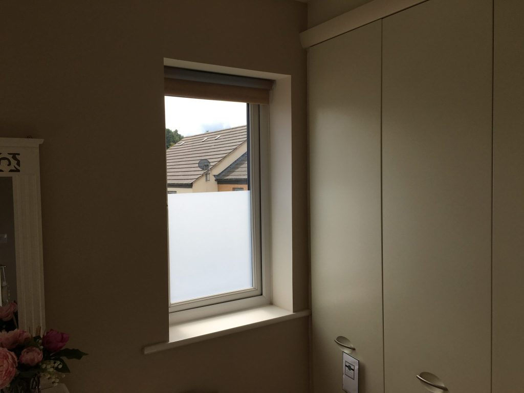 Residential Frost Translucent Privacy Window Film