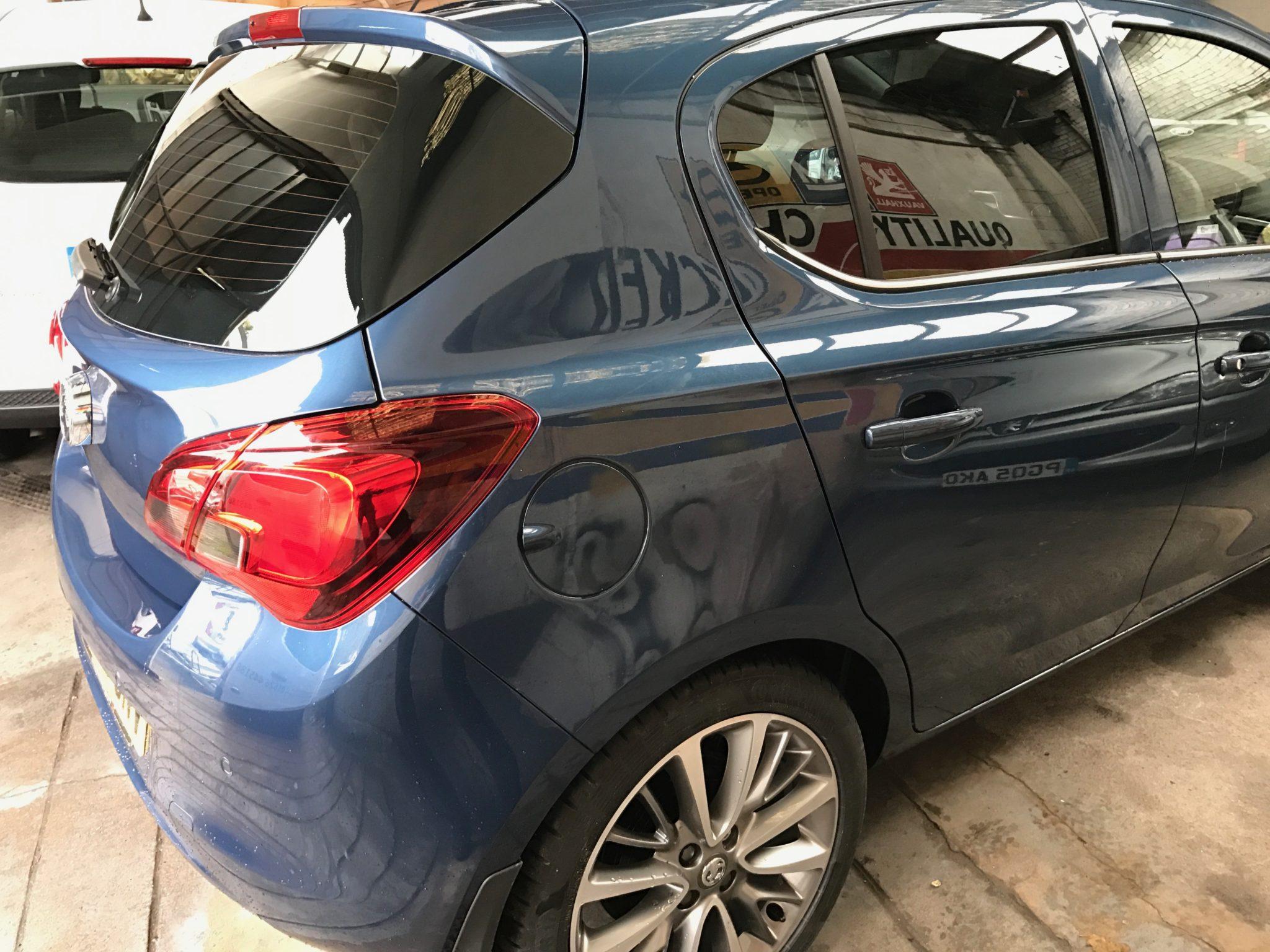 Vauxhall Corsa Window Tint