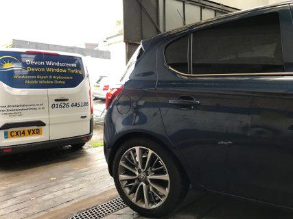 Vauxhall Corsa Global Window Tint