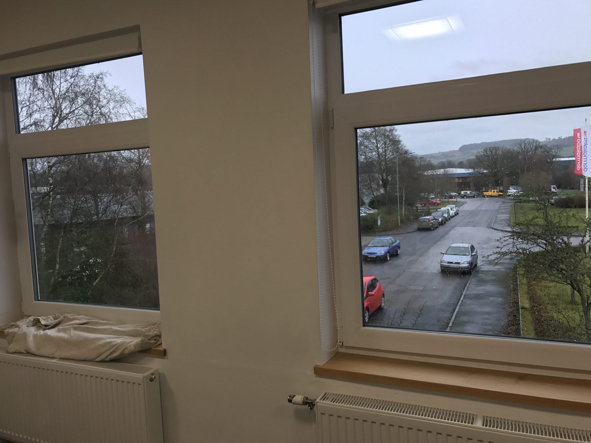 Silver 50 Window Film Upstairs Windows Internal View