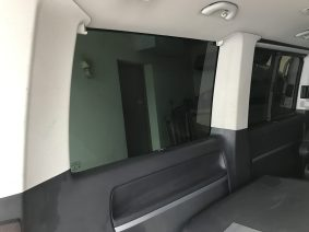 VW Caravelle Rear Quarter Tint Internal View
