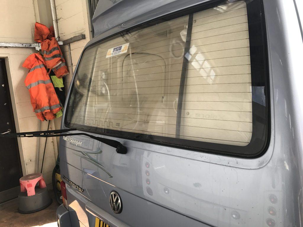 VW Transporter T4 Rear Window Tint