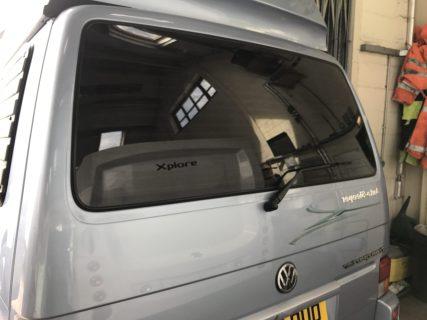 VW Transporter T4 Rear Window Tint Global QDP 5%