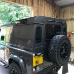 Land Rover Defender Window Tint