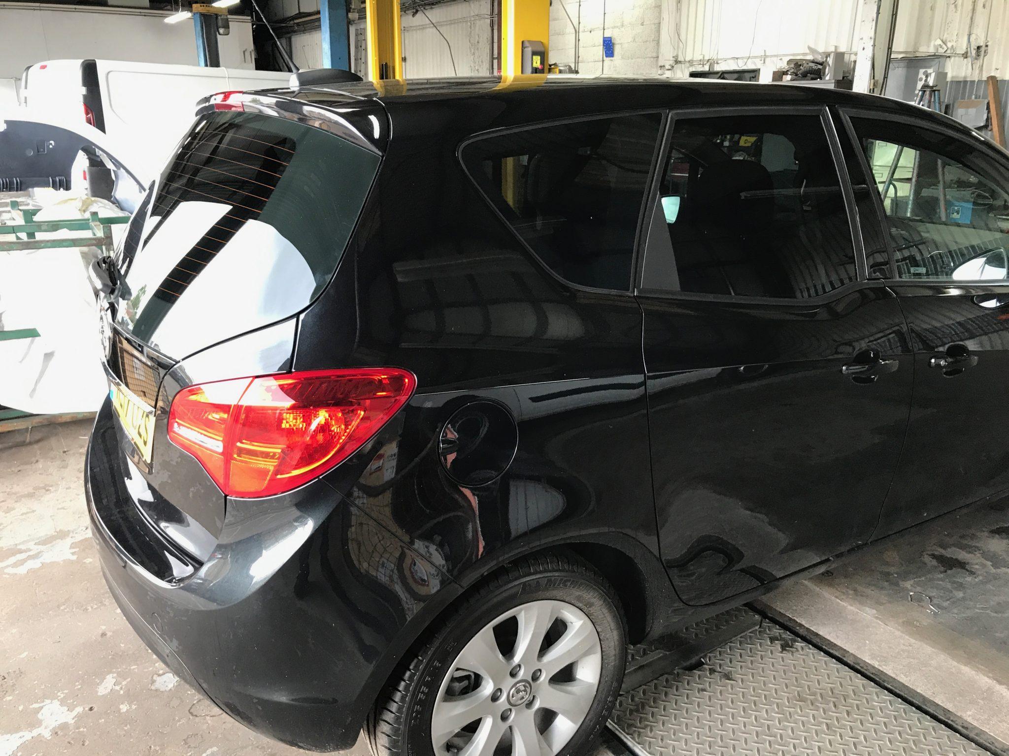 Vauxhall Meriva Window Tint