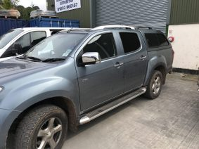 Isuzu D-Max Global Tint