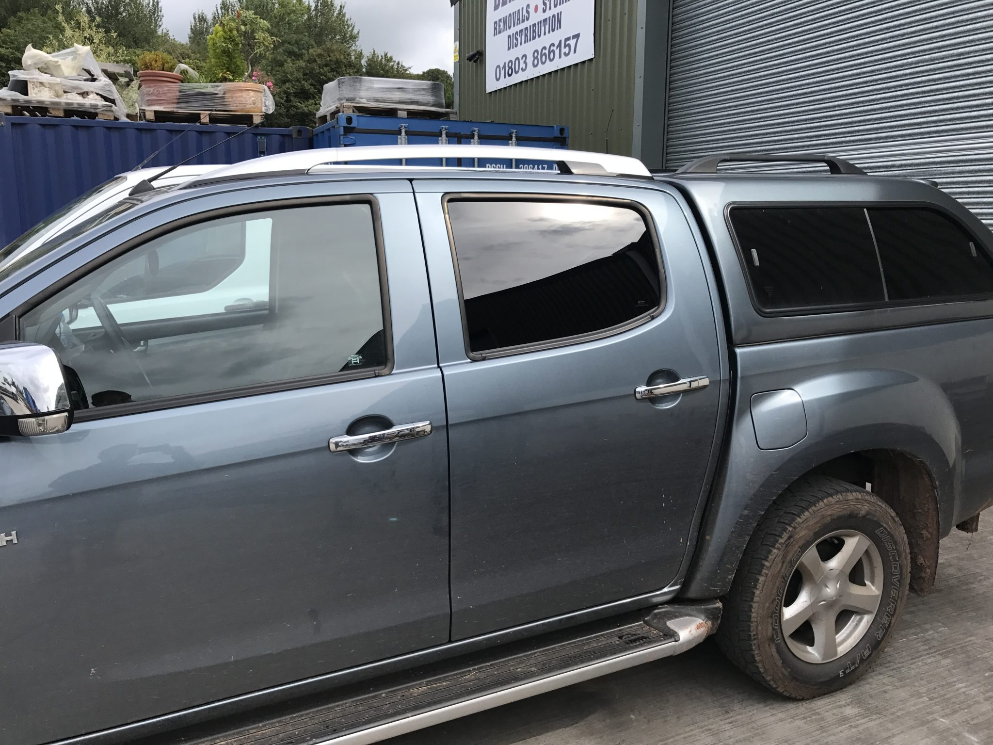 Isuzu Global QDP Tint