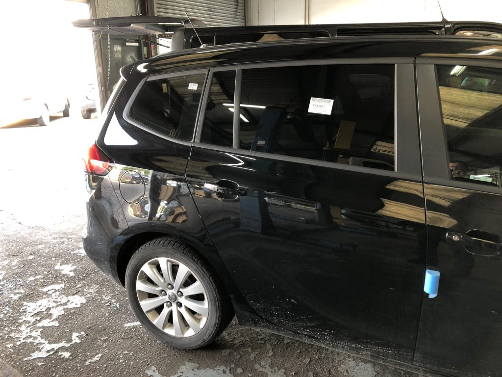 Vauxhall Zafira Window Tinting
