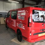 Vauxhall Vivaro Double Cab Window Tint