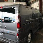 Vauxhall Vivaro Graduated Window Tinting