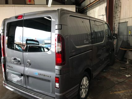 Vauxhall Vivaro Graduated Window Tinting