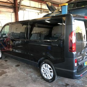 Vauxhall Vivaro Global QDP 05 Limo Black window tint