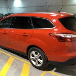 Ford Focus with Global QDP 05 limo black window film.