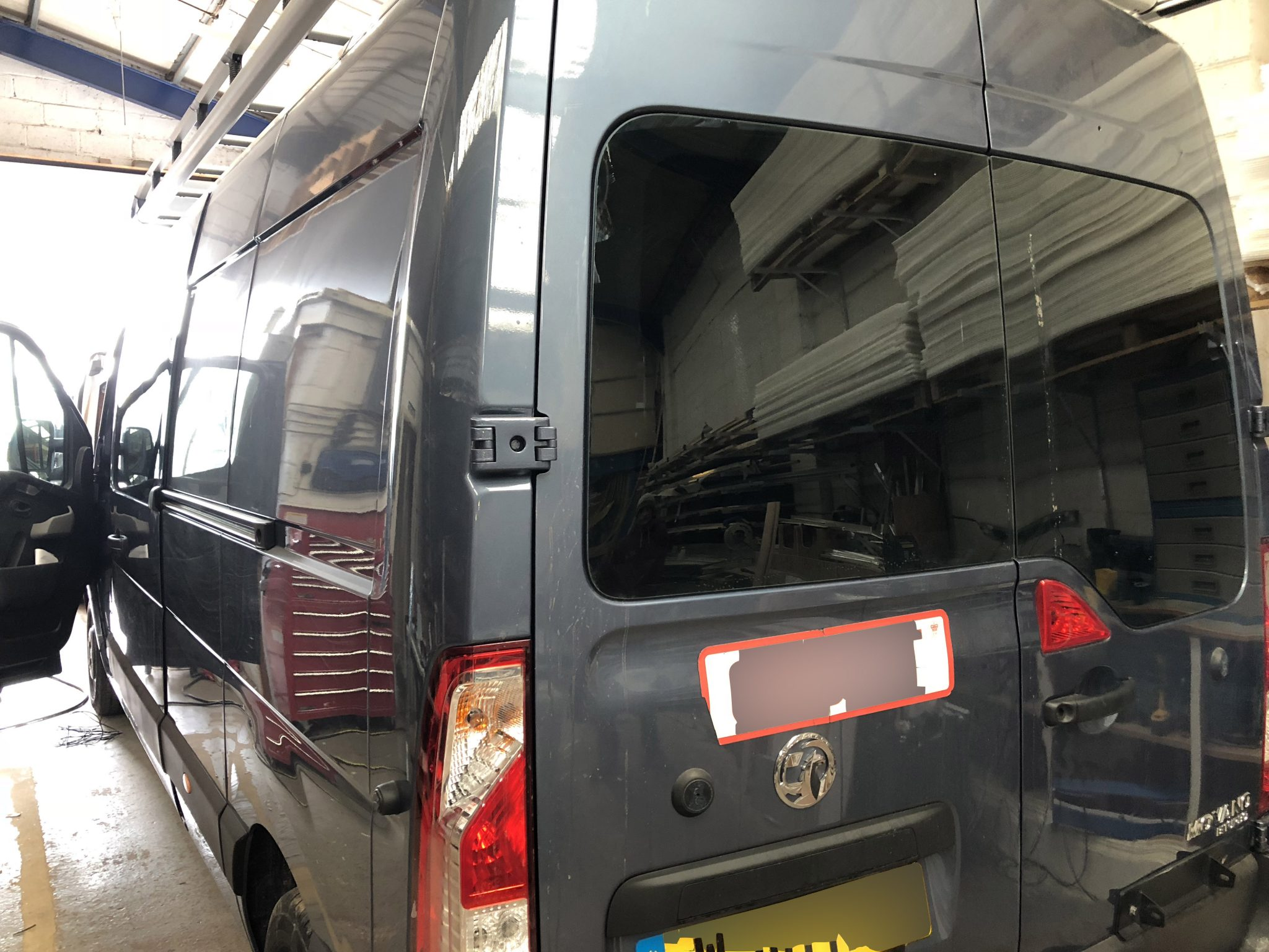 Vauxhall Movano Window Tint