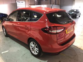 Ford C-Max before global window tinting.