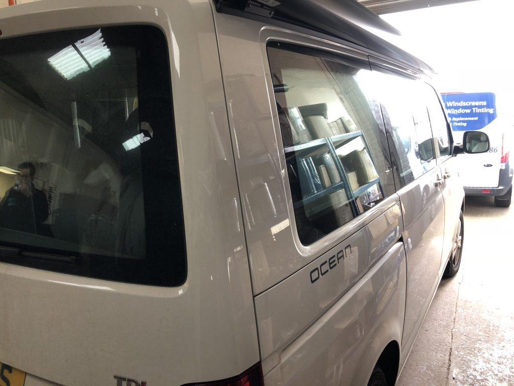 VW Caravelle California Window Tint