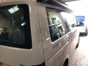 VW Caravelle California Window Tint