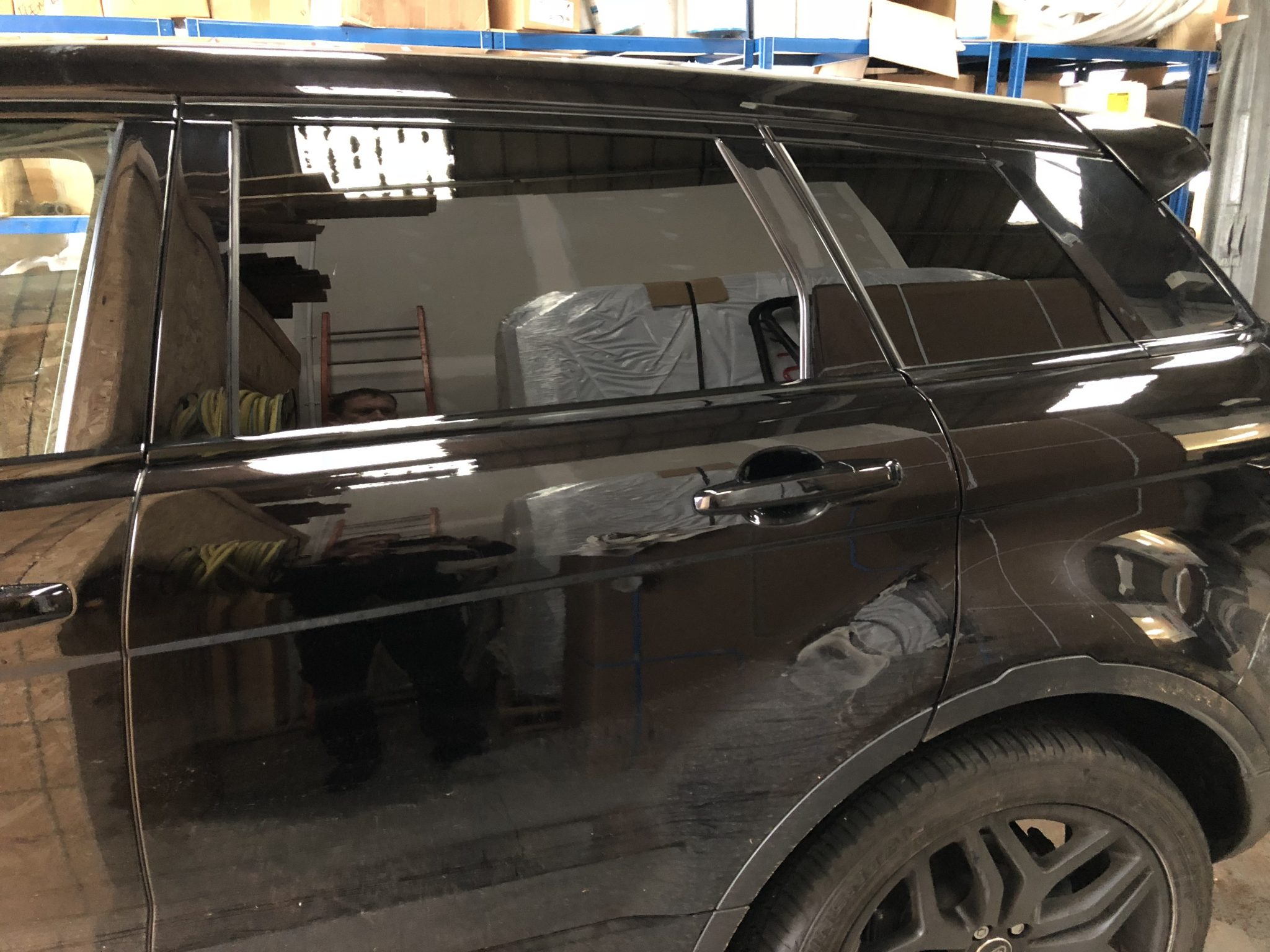 Range Rover Evoque Window Tint
