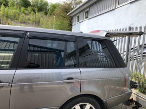 Range Rover Johnson Ray Guard 35 Window Film