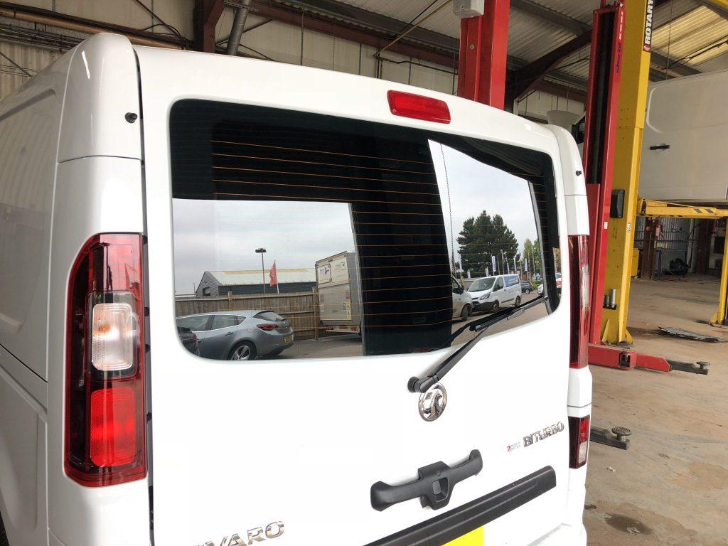 Vauxhall Vivaro Global QDP 05 Limo Black Tint