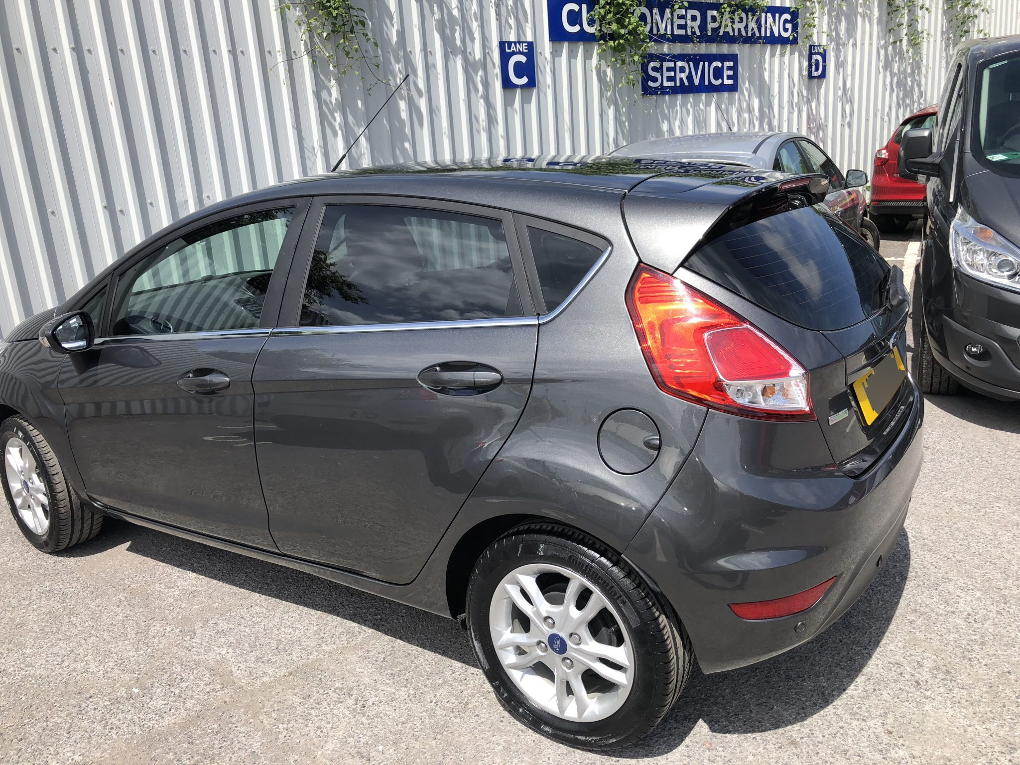 Ford Fiesta Car Window Tinting