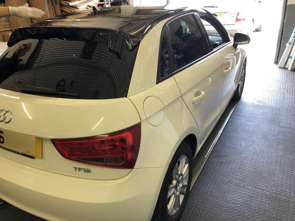 Audi A1 Car Window Tinting
