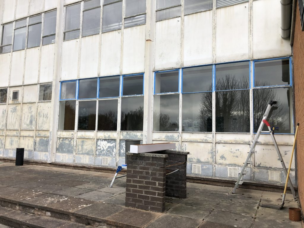 External Window Film Preparation