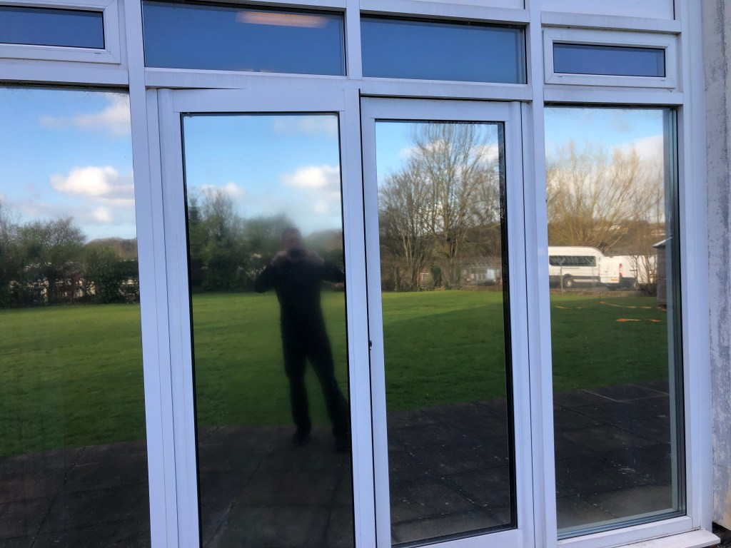 Mirror Effect Privacy Film Devon ACF HQ