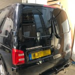 VW T5 Transporter Window Tint Rear Doors
