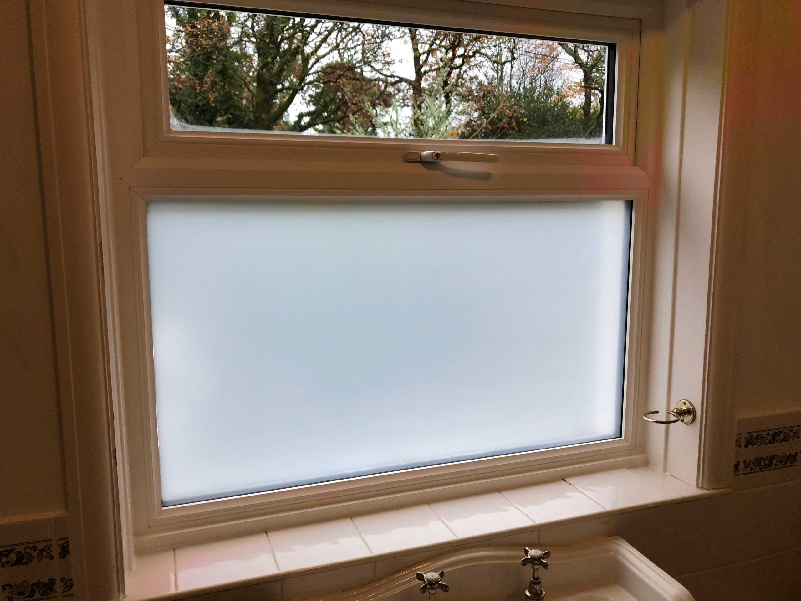Bovey Tracey Frosted Window Film