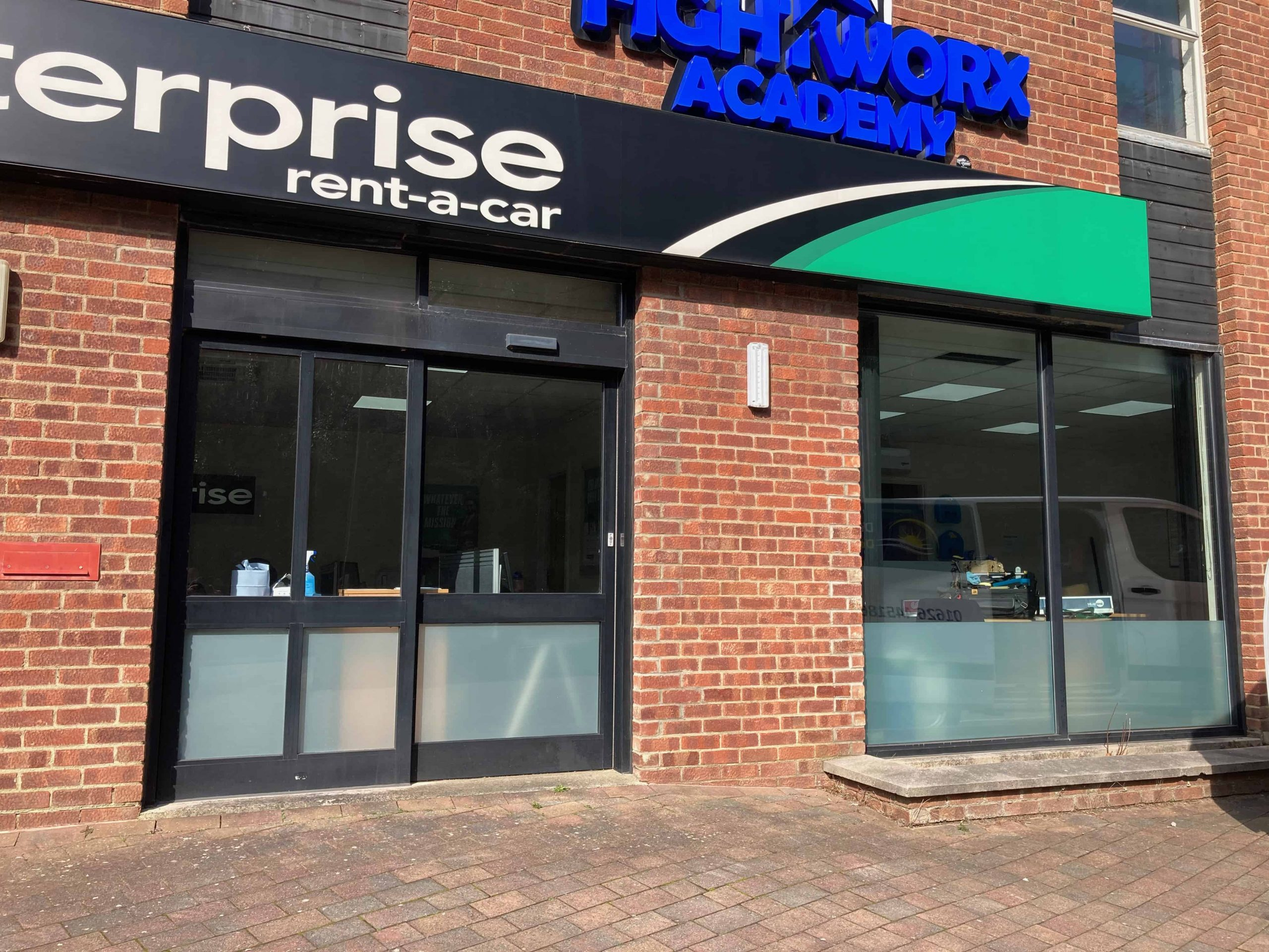Enterprise Frosted Window Film Torquay