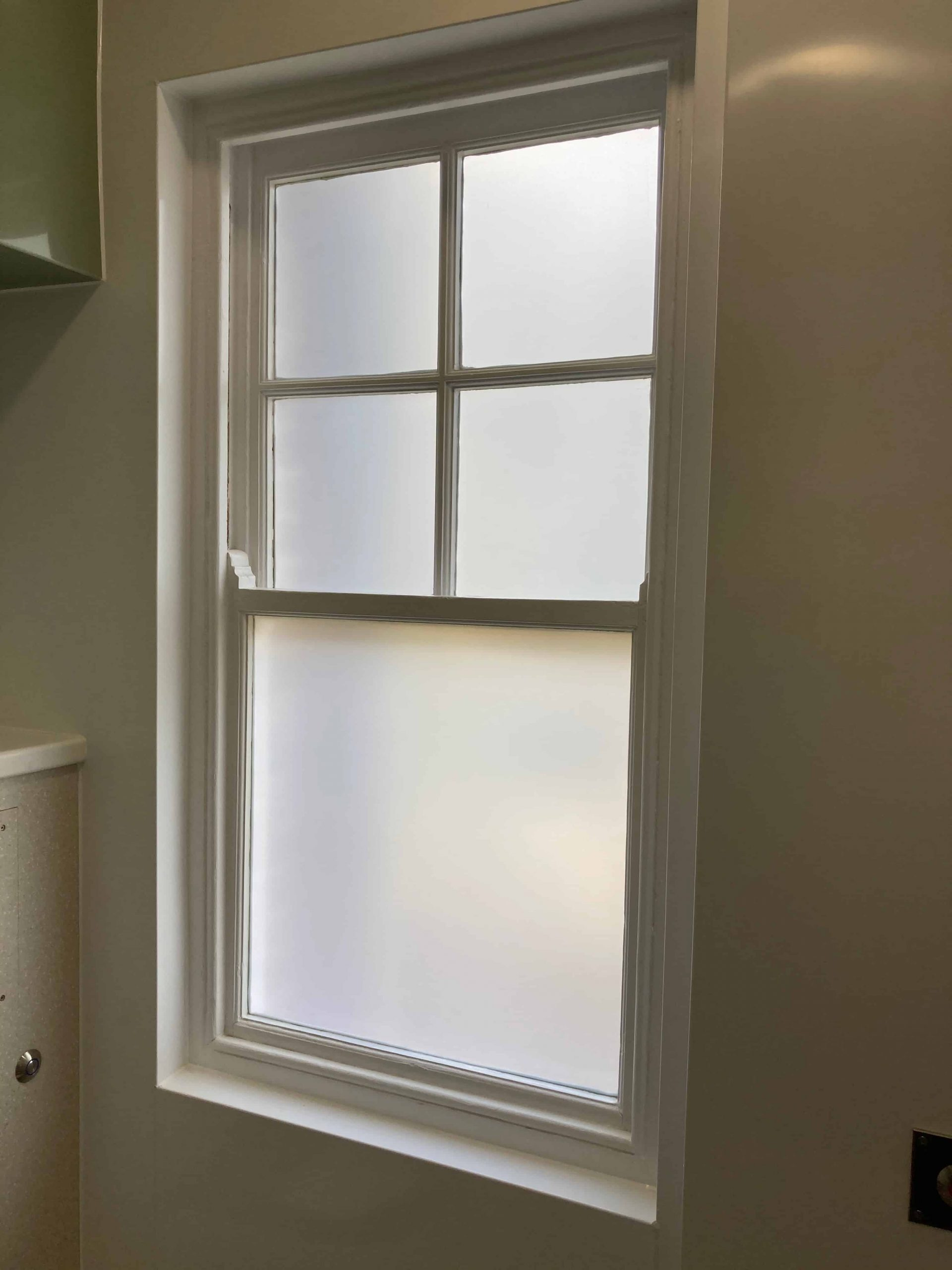 Spring House Exeter Frosted Window Film