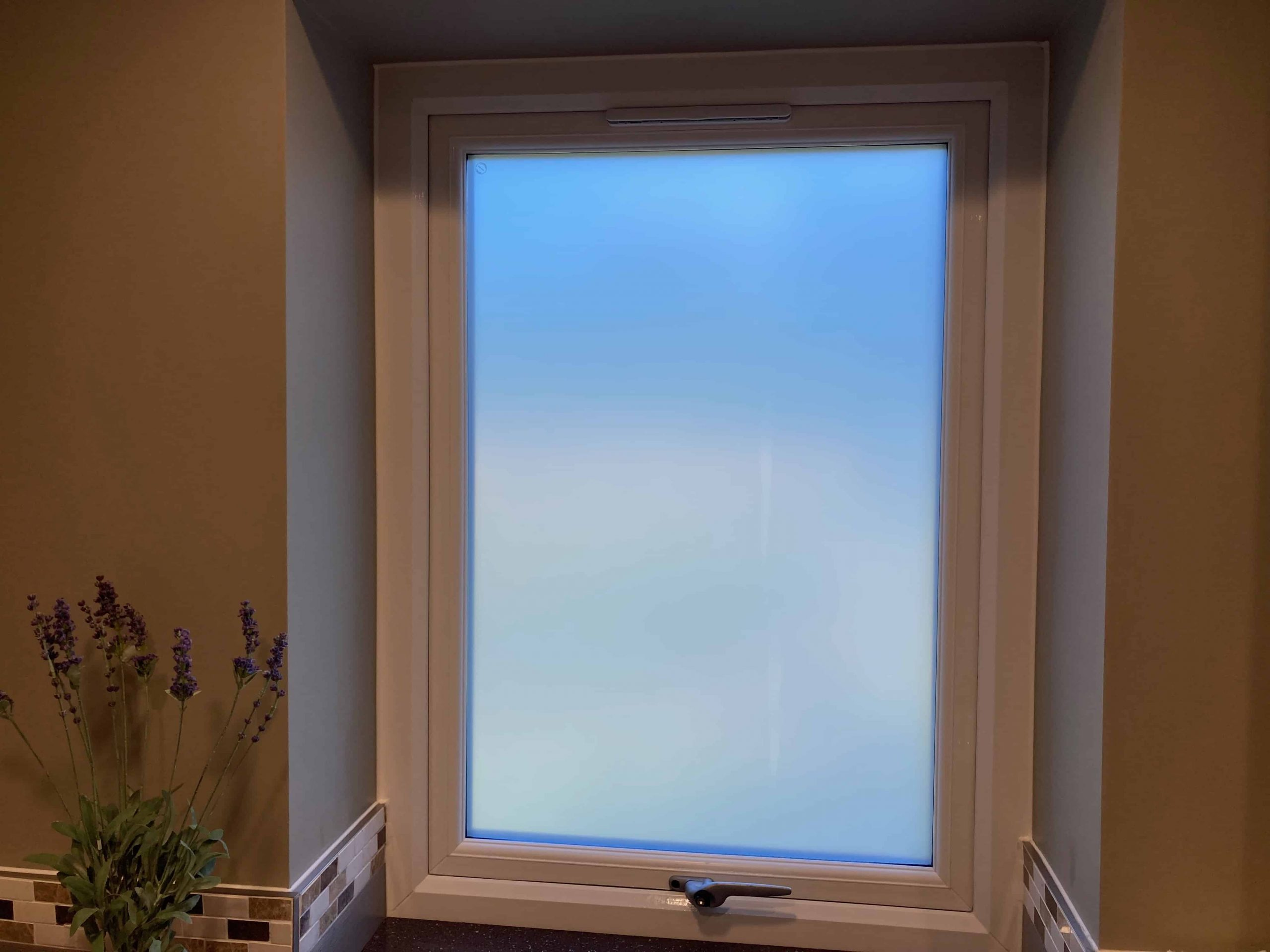 Frosted Window Film Cumberland Grange Exeter