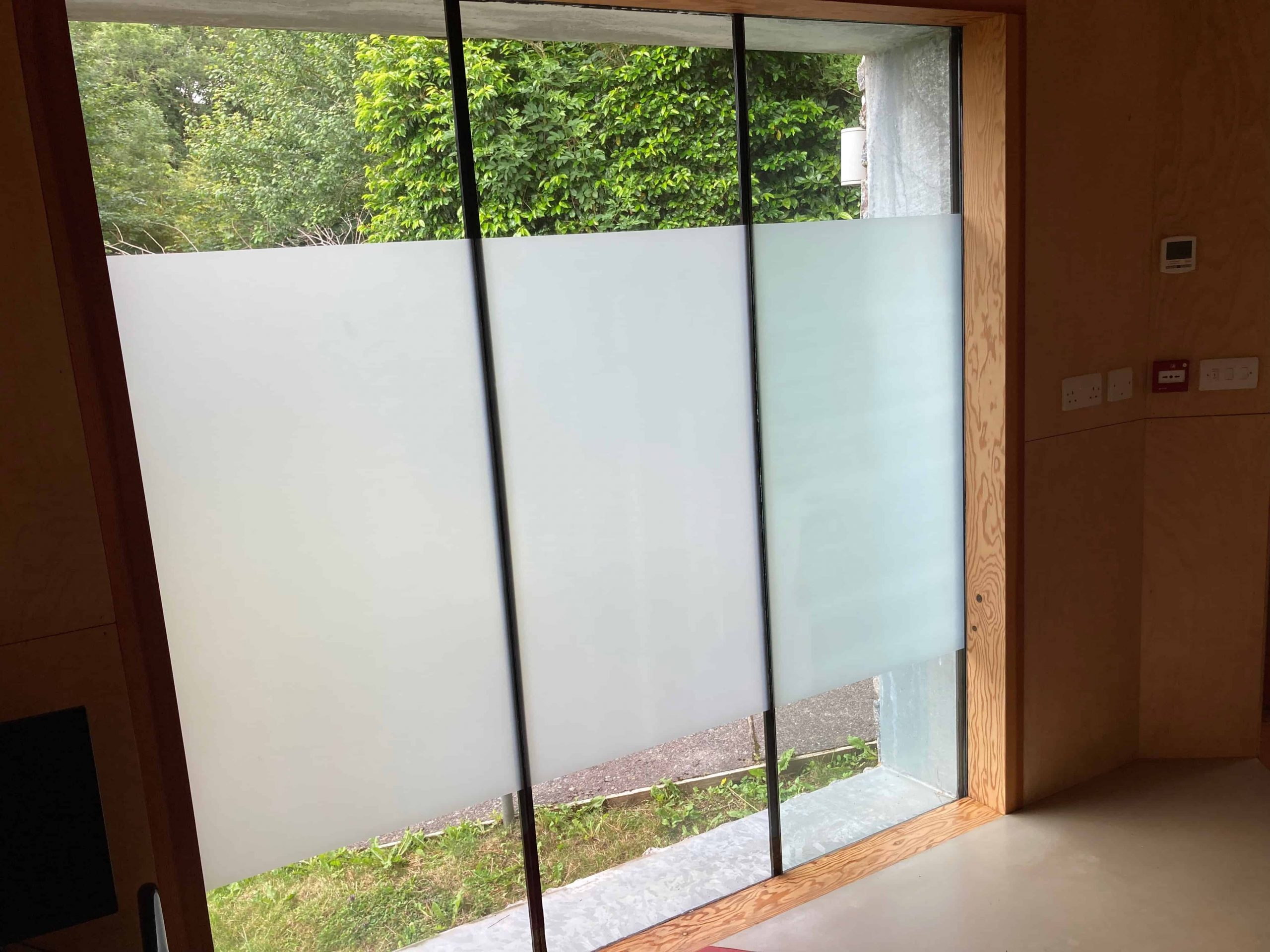 Frosted Window Film Plymouth