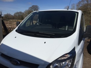 ford transit custom windscreen
