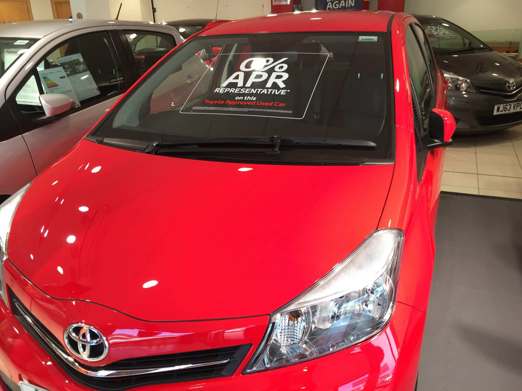 Toyota Yaris Windscreen Chip Repair