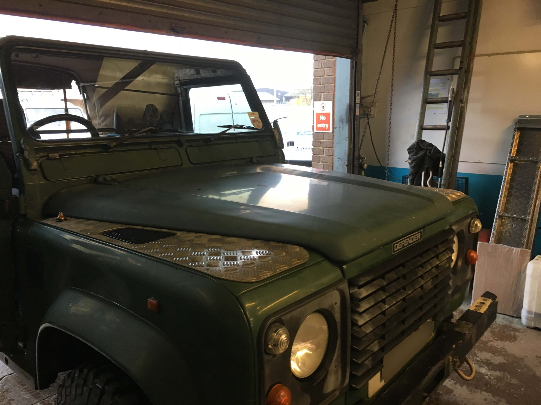 Land Rover Defender Windscreens