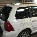 Peugeot 307 Loose Rear Window