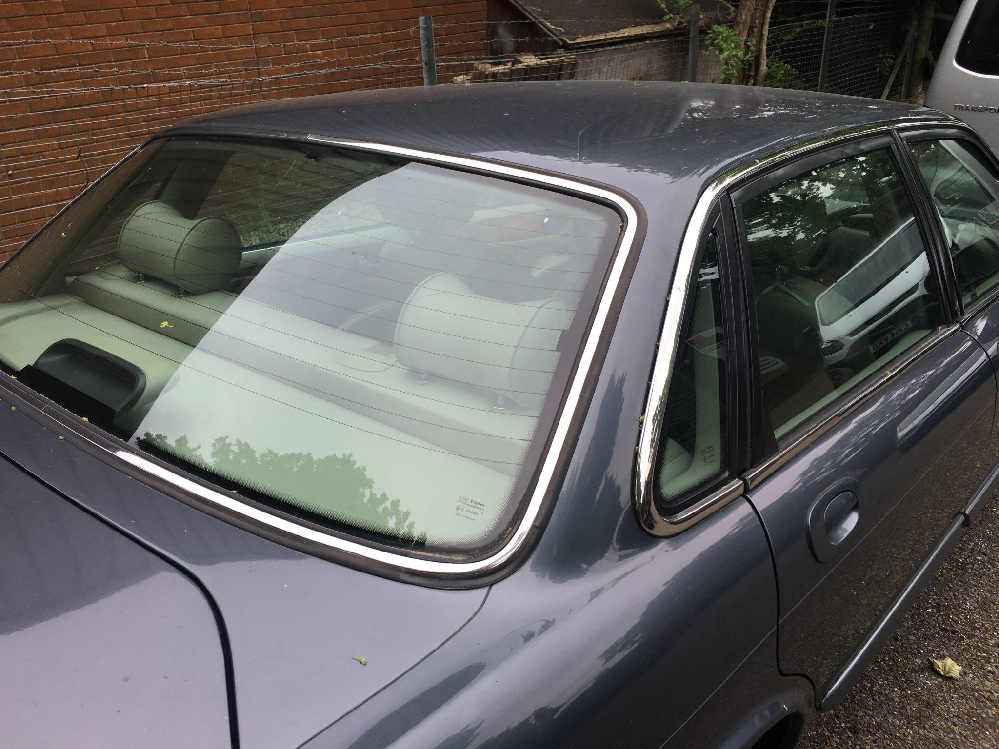 Jaguar Rear Windscreen