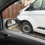 Vauxhall Corsa Smashed Car Window