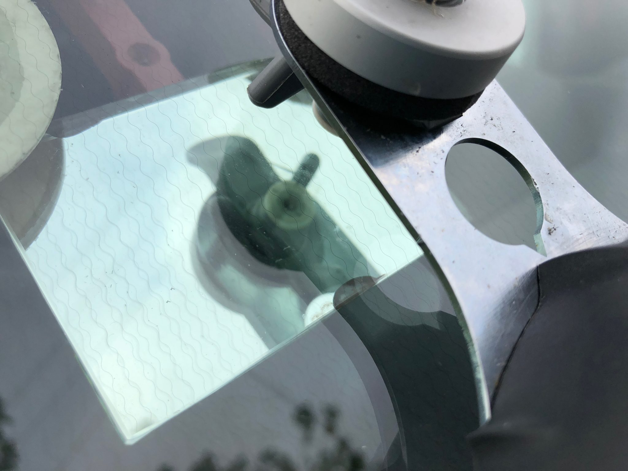 New Transit Windscreen Chip Repair