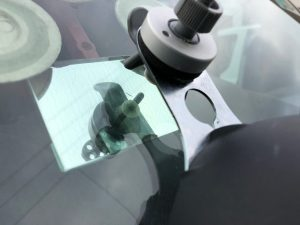 New Ford Transit Windscreen Chip Repair