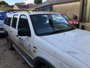 Ford Ranger Windscreen
