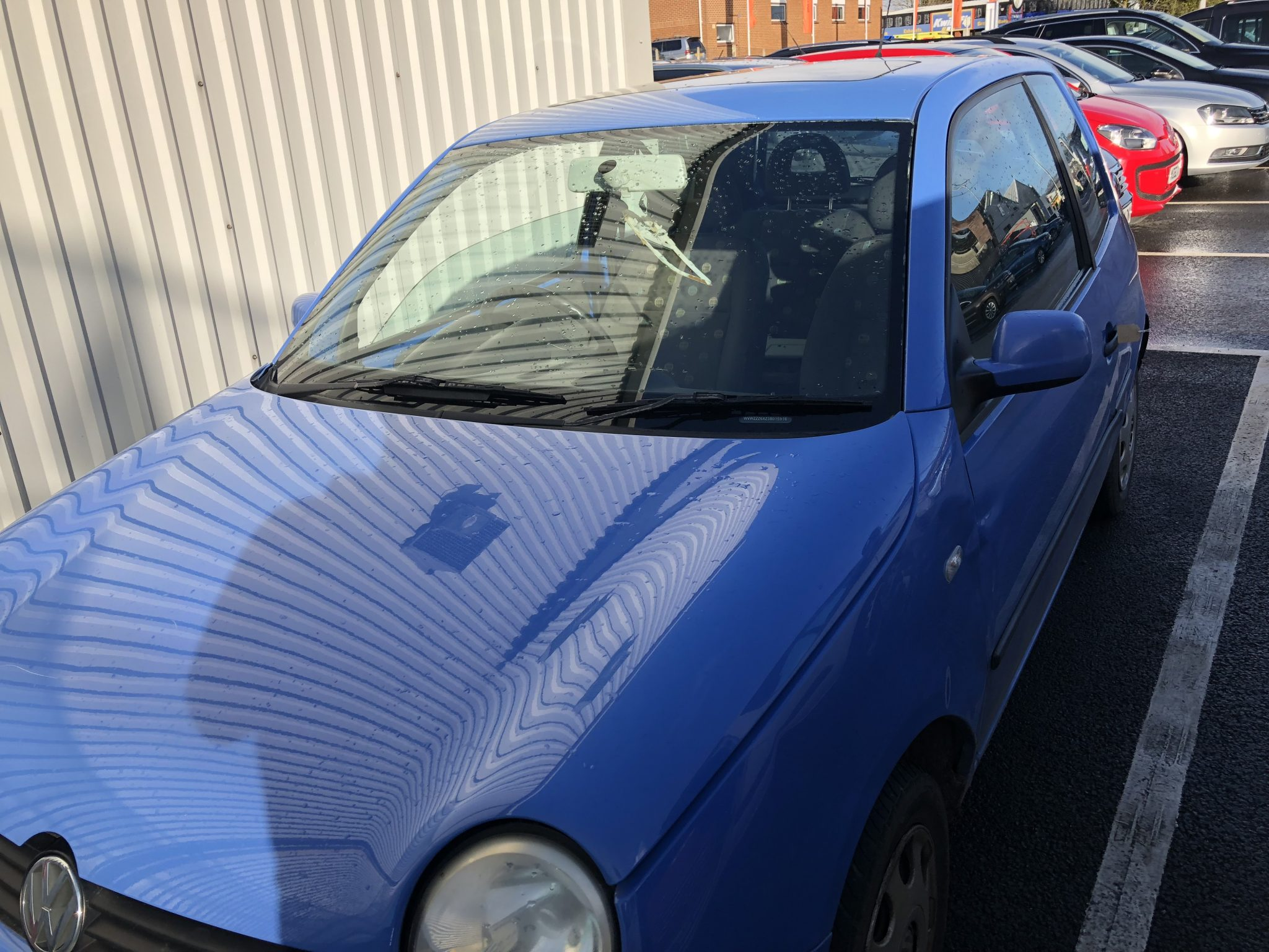 VW Lupo Replacement Windscreen
