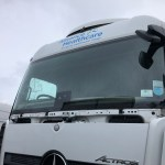 Mercedes Actros Windscreen Replacement
