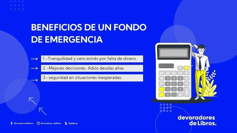 beneficios de ahorrar un fondo de emergencia