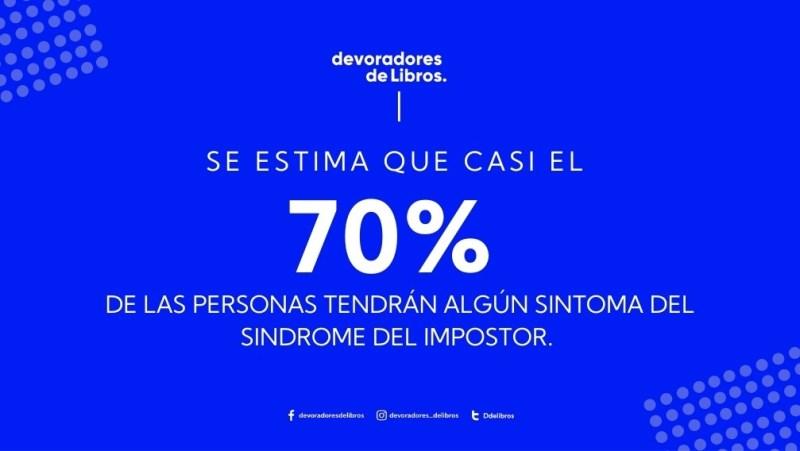 Estadística del síndrome del impostor
