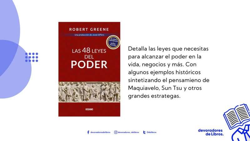 48 leyes del poder robert greene