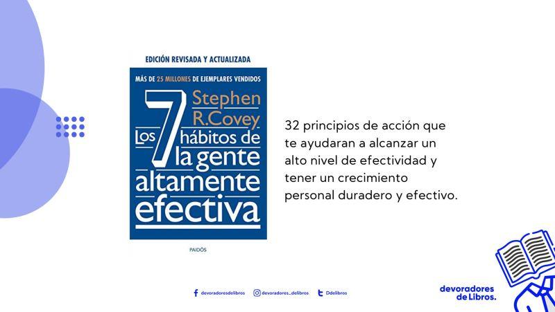 7 hábitos de la gente altamente efectiva de Stephen Covey